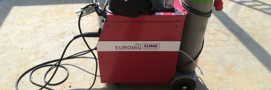ELMAG Schutzgas-Schweißanlage, EUROMIG plus 272